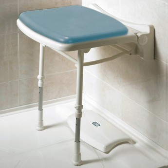 Asientos abatibles de ducha compactos y acolchados AD528