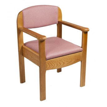 Silla w.c. de madera 'Royal' AD904
